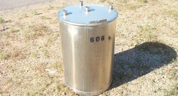 55 Gallon Stainless Steel Drum