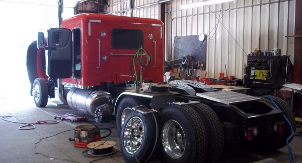 Installing New Pusher Axle